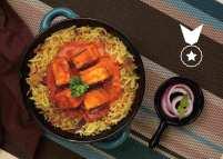 Paneer Tikka Flavorful Rice Feast