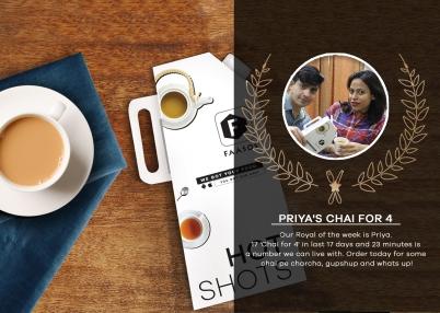 Priya`s chai for 4